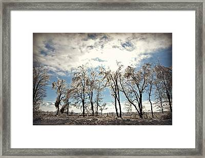 Glorious Winter Framed Print by Dawdy Imagery