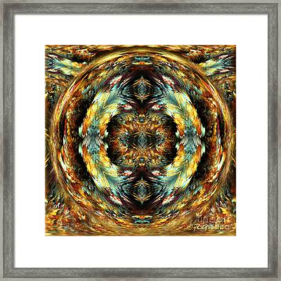 Glory - Abstract Fantasy Art By Giada Rossi Framed Print