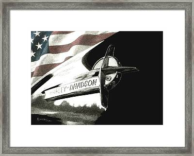 Glory And Power Framed Print