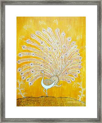 Glory Framed Print by Anjali Vaidya