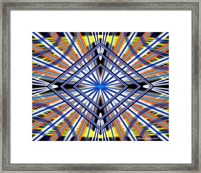 Framed Print featuring the digital art Glory by Brian Johnson