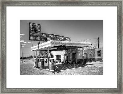 Glory Days Of Route 66 Framed Print by Bob Christopher