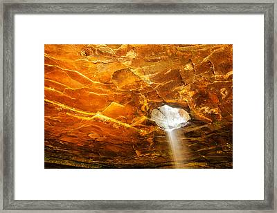 Glory Falls - Arkansas Framed Print by Gregory Ballos