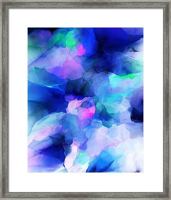 Framed Print featuring the digital art Glory Morning by David Lane