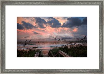 Glory Of Dawn Framed Print by Karen Wiles