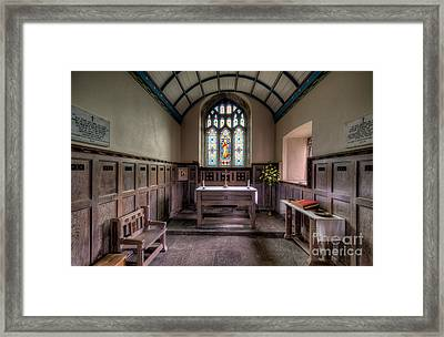 Glory Of God Framed Print by Adrian Evans