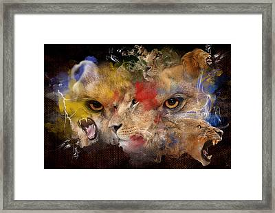 Glory Of The Beast Framed Print