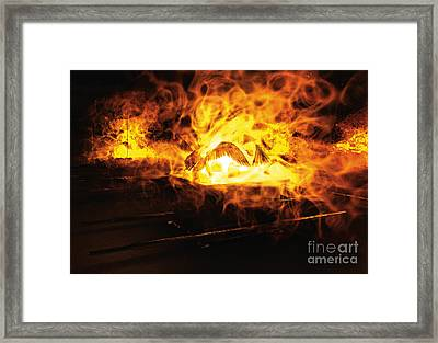 Glory Of The Lord Framed Print