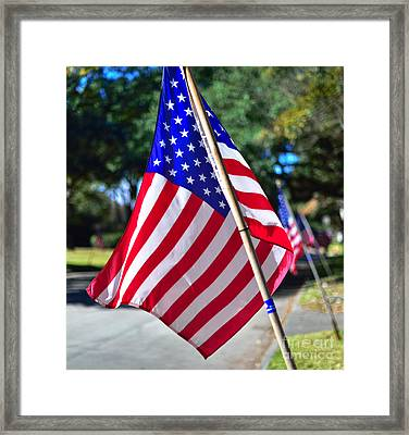 Glory On The Streets Framed Print by Norman Gabitzsch