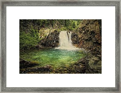 Glory Pool Framed Print by Priscilla Burgers