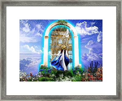 Glory Portal  Framed Print