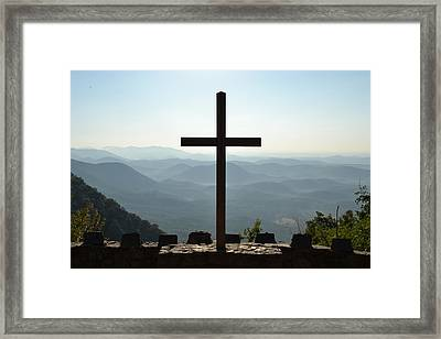 Glory Reigns Framed Print