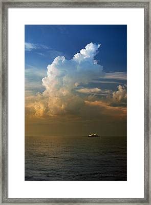 Glory Framed Print by Rima Biswas