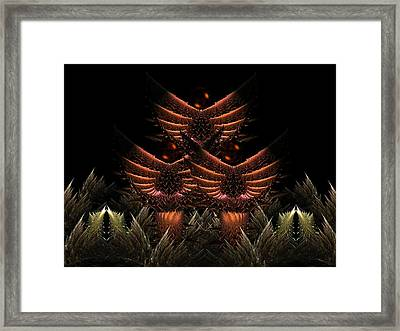 Glory Seed Framed Print by Ricky Kendall