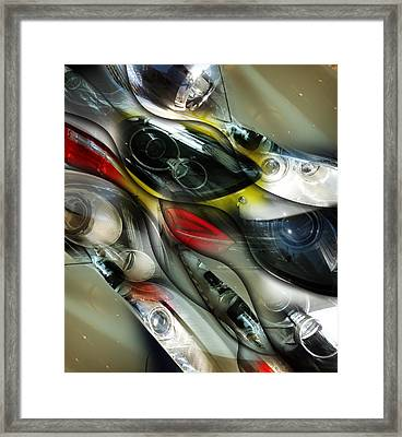 Gloss And Glory Design Framed Print by Florin Birjoveanu