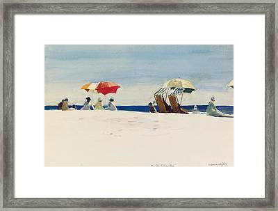 Gloucester Beach Framed Print by Edward Hopper