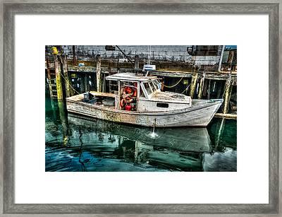 Gloucester Boat Framed Print