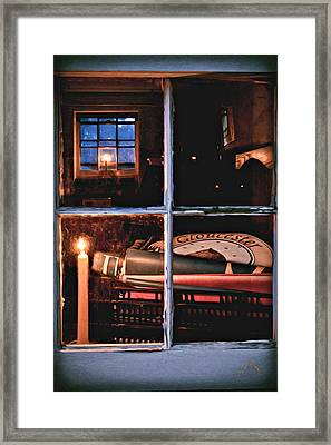 Gloucester By Candlelight Framed Print