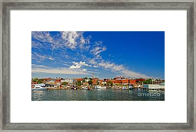 Gloucester Massachusetts Framed Print by Charles Dobbs