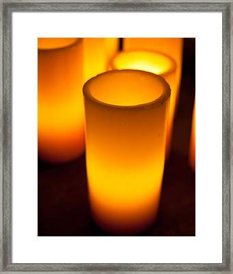Framed Print featuring the photograph Glow by Brad Brizek