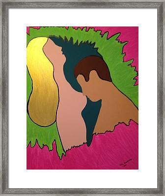 Glow Framed Print