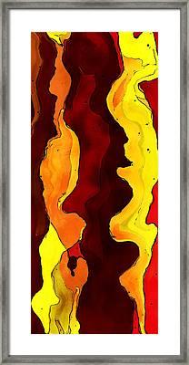 Glow Flow Framed Print by David G Paul