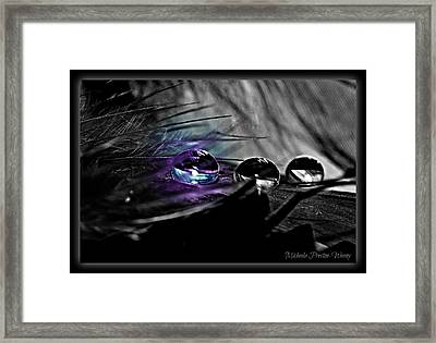Framed Print featuring the photograph Glow In The Dark by Michaela Preston