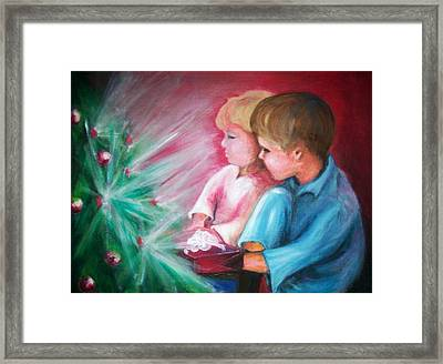 Glow Of Christmas Framed Print