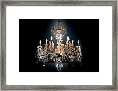 Glow Of Romance Framed Print by Karen Wiles