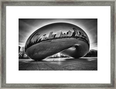 Glowing Bean Framed Print