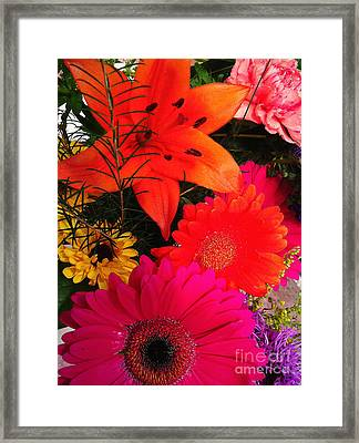 Framed Print featuring the photograph Glowing Bright by Meghan at FireBonnet Art