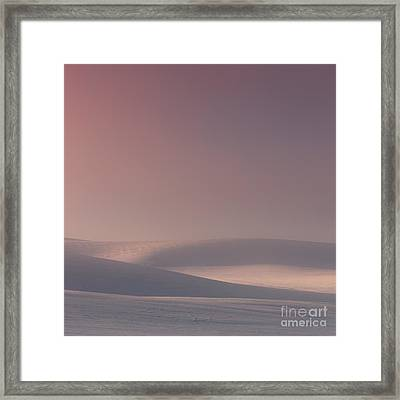 Glowing Hills Framed Print by Beve Brown-Clark Photography