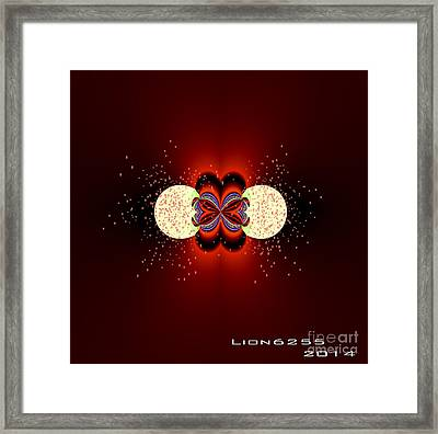 Framed Print featuring the digital art Glowing by Melissa Messick