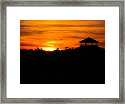 Framed Print featuring the photograph Glowing Soft Closure by Joetta Beauford
