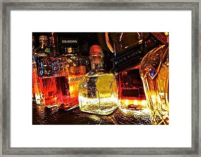 Glowing Spirits Framed Print