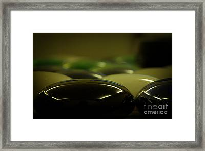 Glowing Stones Framed Print by Jolanta Meskauskiene