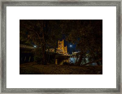 Glowing Towers Framed Print by Everet Regal