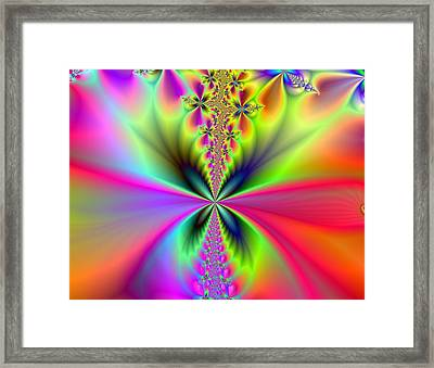 Glowing Wings Framed Print by Ester  Rogers