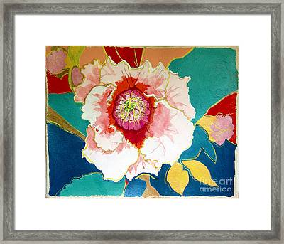 Gloxinia Framed Print
