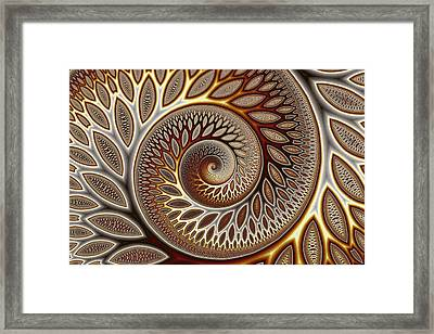 Glynn Spiral No. 1 Framed Print by Mark Eggleston