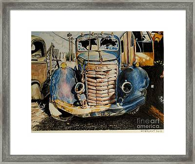 Gmc With A Personality Framed Print