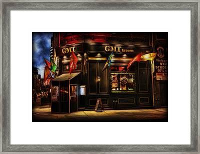 Gmt Tavern Framed Print by Lee Dos Santos