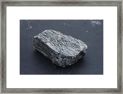 Gneiss, A Metamorphic Rock Framed Print