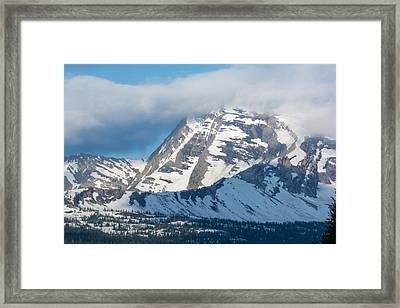 Gnp Heaven's Peak Framed Print
