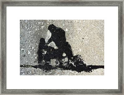 Go And Sin No More Framed Print by John Lautermilch