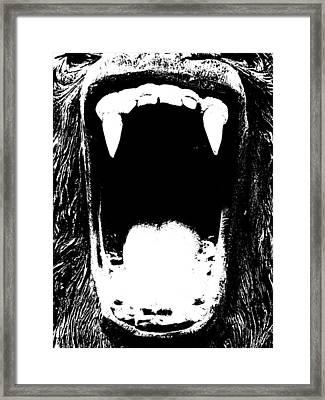 Go Ape Framed Print