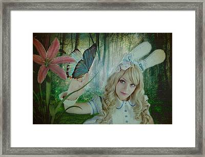 Go Ask Alice Framed Print by Christine Holding