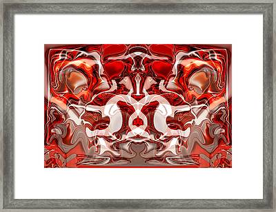 Go Cougs Framed Print