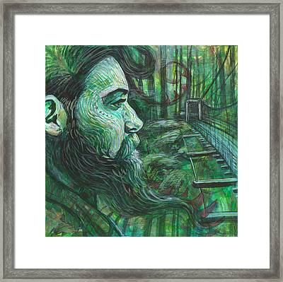 Go Deep Framed Print by Elizabeth D'Angelo
