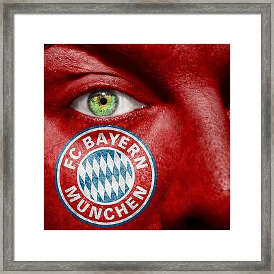 Go Fc Bayern Munchen Framed Print by Semmick Photo